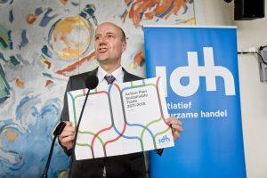 Nederland, Den Haag, 13 september 2010. Duurzaamheidscongres IDH, Malietoren. Foto: Jeroen Poortvliet