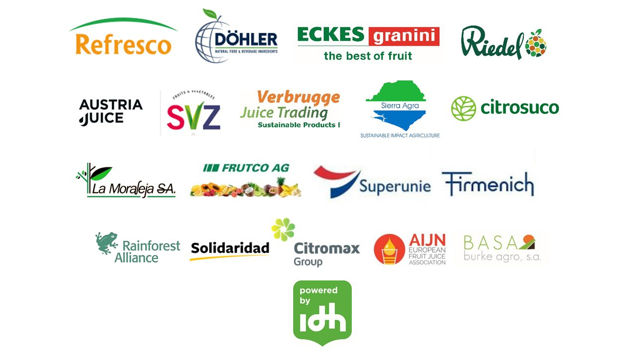 Sustainable Juice Covenant members