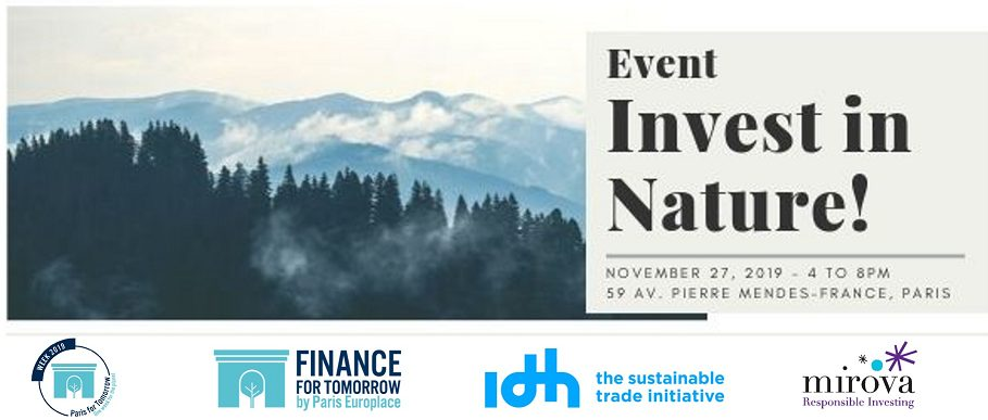 Event: Invest in Nature