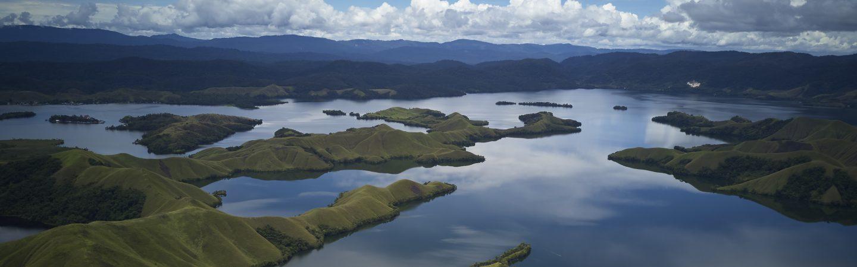 Fjords in Papua, Indonesia
