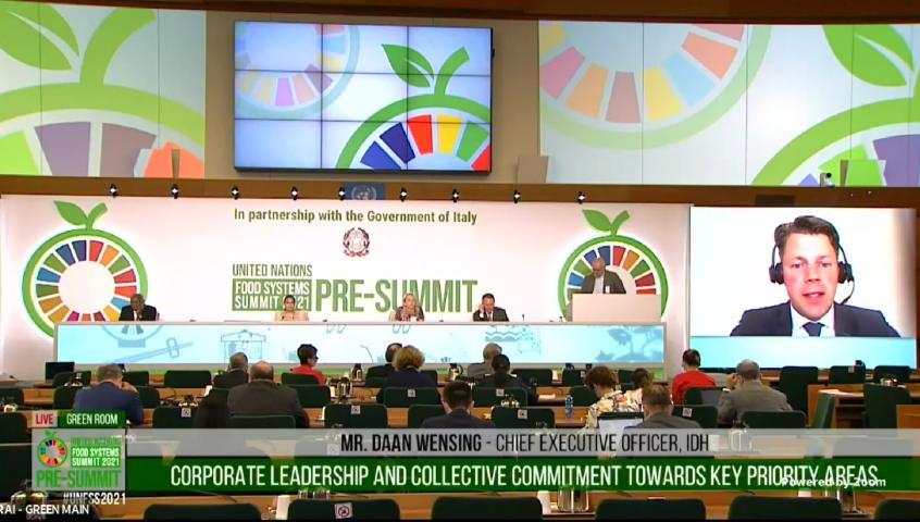 Daan Wensing UN Food Systems Pre-Summit